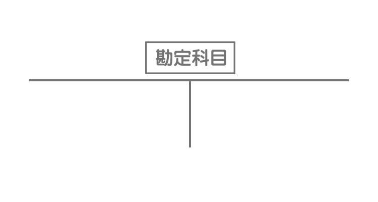 T勘定(Tフォーム)
